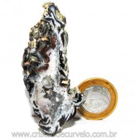 Geodo Ágata Cristais de Calcedônia em Cavidade Cod 111284
