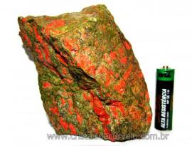 Unakita Pedra Bruta Natural De Garimpo Boa Cor Cod UB3389
