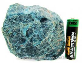 Apatita Azul Em Bruto Pedra Media  Para Esoterico ou Colecionador Cod 308.2
