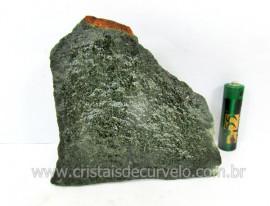 Basalto Verde Bruto Pedra Pra Colecionador ou Estudante de Minerais Geologia Cod 531.0