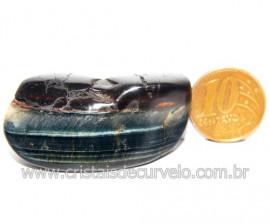 Olho de Falcão Rolado Pedra Natural Origem África Cod 123554