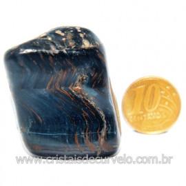 Olho de Falcão Rolado Pedra Natural Origem África Cod 123564