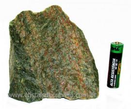 Basalto Verde Bruto Para Colecionador ou Estudante Cod BV8793