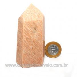 Ponta Amazonita Rosa Pedra Da Família Feldspato Cod 121434