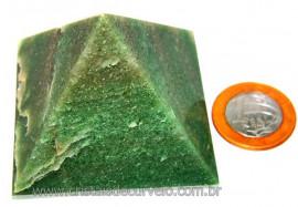 Piramide Pedra Quartzo Verde Baseada Queops Cod PV3119