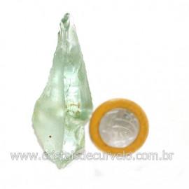 Obsidiana Verde Pedra Vulcanica Ideal P/ Coleçao Cod 126412