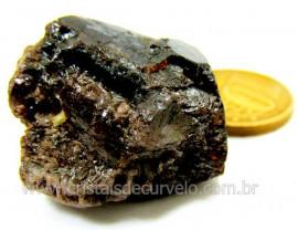 Zircão ou Zirconia Pequeno Pedra Natural Mineral dos Nesossilicatos Cod 118.5