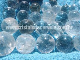 10 Esferas Bola de Cristal no ATACADO Comum Transparência Pacote 2.5 kg