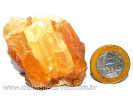 Calcita Mel Pedra Natural P/ Coleção e Esoterismo Cod 110311