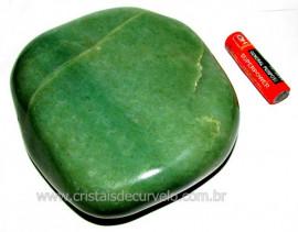 Massageador De Seixo Pedra Quartzo Verde Natural Cod MV3112