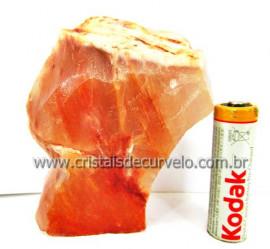 Aragonita Vermelho Pedra de Colecionador Mineral Bruto Rocha de Garimpo Cod 244.8