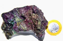 Rubi Pedra Bruto Natural na Matriz de Corindon Cod RC1673