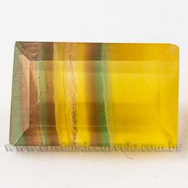 Fluorita Gema Pedra Natural Montagem Joias Finas cod 112662