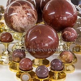 1 Kg Esfera Bola Quartzo Vermelho Comum Qualidade ATACADO 112686