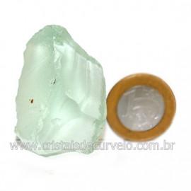 Obsidiana Verde Pedra Vulcanica Ideal P/ Coleçao Cod 126415