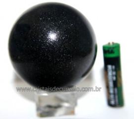 Esfera Pedra Quartzo Preto ou Quartzito Natural Cod BP5909