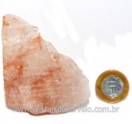 Hematoide Vermelho Natural Quartzo Cristalizado Cod 121496