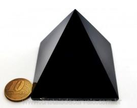 Piramide Obsidiana Negra Pedra Vulcanica Queops Cod PO9917