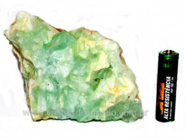 Fluorita Verde Pedra Natural Bruto Para Esoterismo Cod FV7224