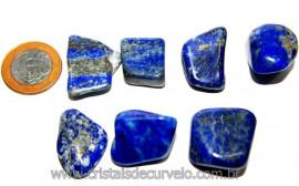 01 Lapis Lazuli ou Lazurita Natural Rolado Reff LL7247
