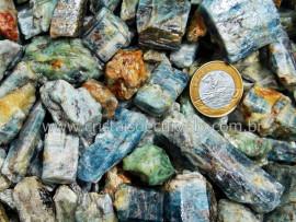 1 KG Cianita Azul Canudos Grande Comum Qualidade para Fabricar Orgonite Pedra Natural