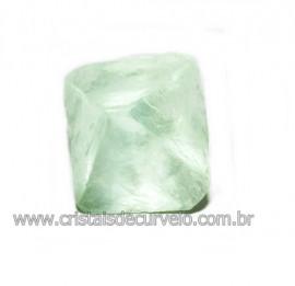 Fluorita Cubica da Mongólia Pedra Natural Pra Coleção 115928