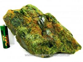 Diopsidio Verde Pedra Bruto Pra Colecionador Mineral Legitimo de Garimpo Cod 651.2