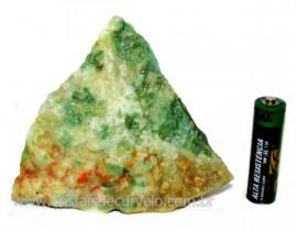 Jadeita Com Nefrita Pigmentada Mineral Natural Cod102043