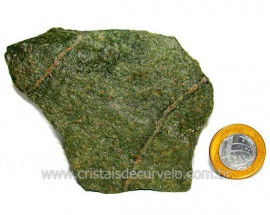 Basalto Verde Bruto Para Colecionador ou Estudante Cod BV1283