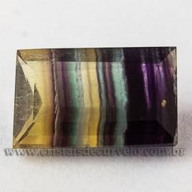 Fluorita Gema Pedra Natural Montagem Joias Finas cod 112683