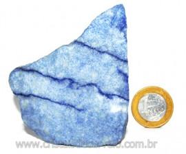 Quartzo Azul ou Aventurina Azul Bruto Natural Cod 110798