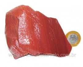 Dolomita Vermelha Pedra Natural Bruto de Garimpo Cod DB6701