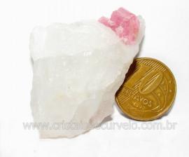 Turmalina Rosa ou Vermelha Pedra Pequena Extra Cod TR7562