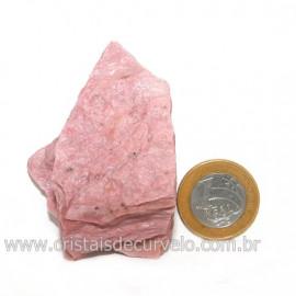 Jaspe Rosa Do Peru Pedra Bruta Natural de Garimpo Cod 128540