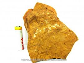 JASPE Amarelo Pedra Bruta Natural Para Colecionador ou Lapidario Cod 619.1