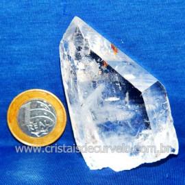 Lemuria Pequeno Quartzo Comum Cristal Lemuriano Natural Cod 119457