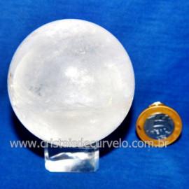 Bola Cristal Comum Qualidade Pedra Uso Esoterico Cod 119769