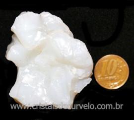Opala Branca Pedra Genuina P/Coleçao ou Lapidaçao Cod 123825