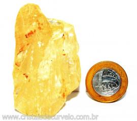 Calcita Mel Pedra Natural P/ Coleção e Esoterismo Cod 110320