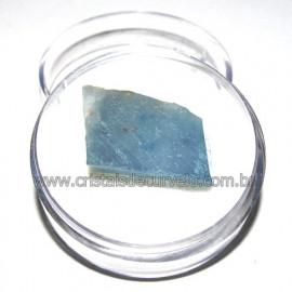 Calcita Azul do Mexico no Estojo Pedra Natural Cod 114195