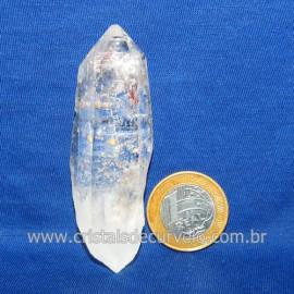 Lemuria Pequeno Quartzo Comum Cristal Lemuriano Natural Cod 119473