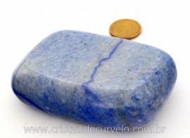 Sabonete Massageador Pedra QUARTZO AZUL Mineral de Garimpo Cod 214.5