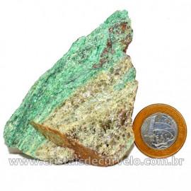Fuxita Mica Verde Para Colecionador Pedra Natural Cod 126818