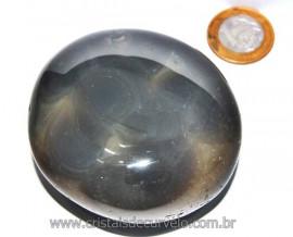 Massageador de Seixo Pedra Agata Natural Cod MA8988