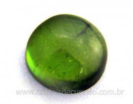 Gema Turmalina Verde Lisa Pedra Natural 2.4ct 8mm Reff TV8114