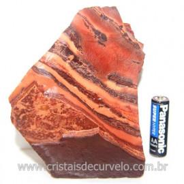 Jaspe Rajado Bruto Natural Pedra Ideal P/ Coleçao Cod 121517
