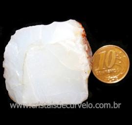 Opala Branca Pedra Genuina P/Coleçao ou Lapidaçao Cod 123810