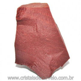 Dolomita Vermelha Pedra Natural Bruto de Garimpo Cod 116165