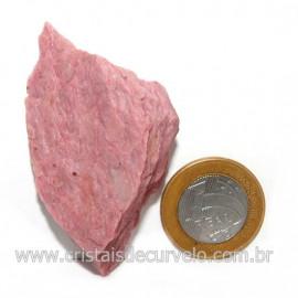 Jaspe Rosa Do Peru Pedra Bruta Natural de Garimpo Cod 128538