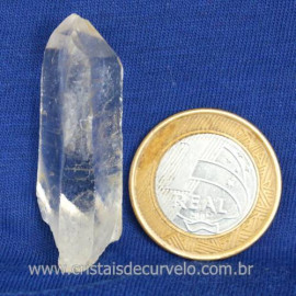 Laser Cristal Pedra Natural Garimpo Longo e Fino Cod 122926